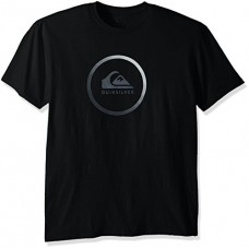 Quiksilver Men's Active Logo T-Shirt, Black, L
