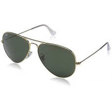 Ray-Ban Large Metal Ii Aviator Sunglasses, Arista, 62 mm