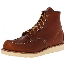 """Red Wing Heritage Men's 6"""" Classic Moc Toe Boot, Oro Legacy, 9 M US"""