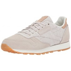 Reebok Men's CL Leather Ebk Sneaker, Sandstone/Chalk-Gum, 13 M US