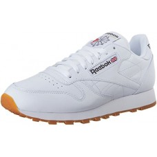 Reebok Men's Classic Leather Sneaker, White/Gum, 10 M US