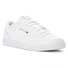 Reebok Men's Club MEMT Walking Shoe, Us-White/Steel, 6 M US