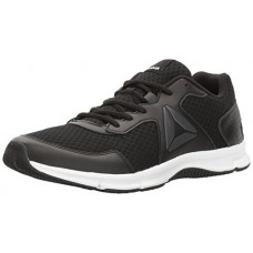 Reebok Men's Express Runner Sneaker, Black/Coal/White, 12 M US