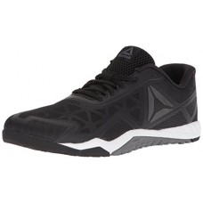 Reebok Men's ROS Workout TR 2.0 Sneaker, Black/Alloy/White, 11 M US