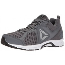 Reebok Men's Runner 2.0 MT Running Shoe, Alloy/Black/Ash Grey/White, 8.5 M US