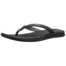Reef Women's Rover Catch Sandal, Black, 7 M US