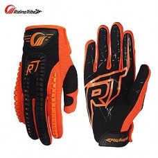 Touch Screen Racing Motocross Gloves Luvas Guantes motocross motorbike luvas Motorcycle Gloves (M, ORANGE)