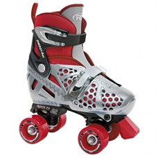 Roller Derby Boy's Trac Star Adjustable Roller Skate, Large