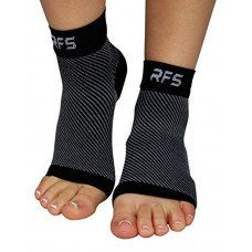 Plantar Fasciitis Compression Foot Brace - Ongoing Pain Relief for Feet Fascia, Arch, & Heel Soreness - Night & Day - Targeted Compression Sleeve F...