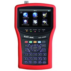 SATLINK WS-6960 DVB-S&DVB-S2 HD MPEG4 Satellite Finder Satellite Meter Constellation analyzer 4.3 Inch LCD Screen