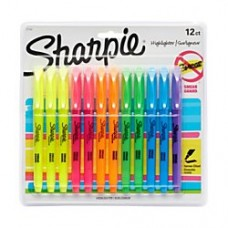 Sharpie(R) Accent(R) Pocket Highlighters, Assorted, Pack Of 12