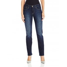 Signature by Levi Strauss & Co Women's Totally Shaping Slim Straight Jeans, Perfection, 10 Medium