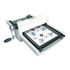 Sizzix 660550 Big Shot Pro Cutting/Embossing Machine with Standard Accessories, Large, White and Gray