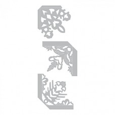 Sizzix 661539 Thinlits Die Set, Photo Corners, Snowflake by Sharyn Sowell (3-Pack),,