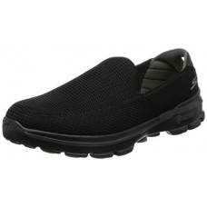 Skechers Performance Men's Go Walk 3 Slip-On Walking Shoe, Black, 10 EW US