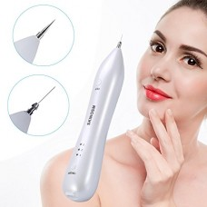 SKINOSM Mole Removal Pen Electric Body & Facial Skin Tag Freckle Removal Kit at Home & Professional Portable Beauty Pen USB Rechargeable