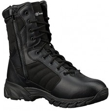 Smith & Wesson Men's Breach 2.0 Tactical Size Zip Boots, Black, 10.5