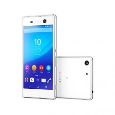 Sony Xperia M5 E5653 16GB 5-inch 4G LTE Factory Unlocked (WHITE) - International Stock No Warranty