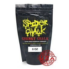 Spider Chalk Loose Gym Chalk, Chunky (8oz Bag)