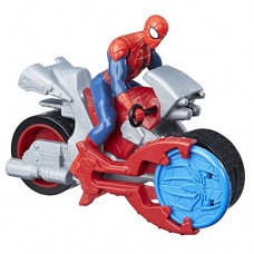 Marvel Spider-Man Blast N' Go Racer Spider-Man with Cycle