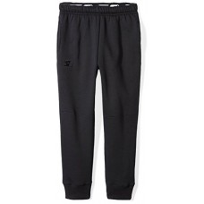 Starter Boys' Jogger Sweatpants with Pockets, Prime Exclusive, Black with Embroidered Logo, M (8/10)