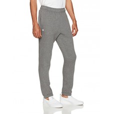 Starter Men's Elastic-Bottom Fleece Sweatpants, Prime Exclusive, Iron Grey Heather, XXL