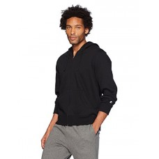 Starter Men's Full-Zip Hoodie, Prime Exclusive, Black, S