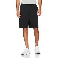 Starter Men's Mesh Shorts with Pockets, Prime Exclusive, Black, Large