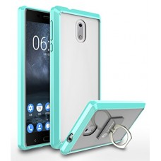 Nokia 3 Case, Style4U Scratch Resistant Shock Absorbent Ultra Slim Transparent Crystal Clear PC Back TPU Bumper Protective Case Cover for Nokia 3 w...