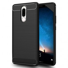 Huawei mate 10 lite case, Sucnakp TPU Shock Absorption Technology Raised Bezels Protective Case Cover formate 10lite Phone (Black)