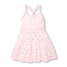 The Children's Place Baby Girls Short Sleeve Casual Dresses, Pink Admirer 96949, 2T