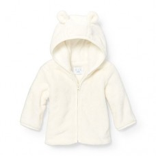 The Children's Place Baby Hoody, Simplywht 88815, 6-9MONTHS