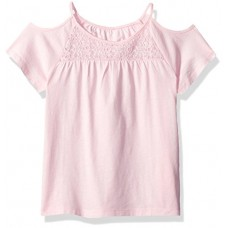 The Children's Place Big Girls' Cold Shoulder Top, Shell 78077, M (7/8)