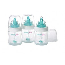 The First Years 3 Pack Breastflow Bottle, 5 Ounce