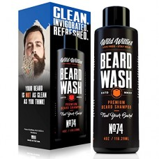 Wild Willies Beard Wash shampoo.The perfect, all natural way to keep your beard clean. Made from wholesome ingredients and packed with organic esse...