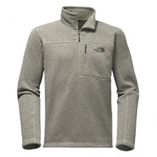 The North Face Men's Gordon Lyons 1/4 Zip Granite Bluff Tan Heather (Large)