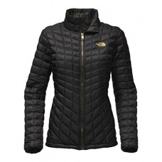 The North Face Women's Thermoball Full Zip Jacket - TNF Black/TNF Black Brightlights Print - M