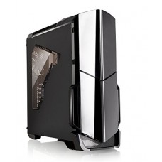 Thermaltake Versa N21 Black Edition Translucent Window Panel SPCC ATX Mid Tower Computer Chassis CA-1D9-00M1WN-00