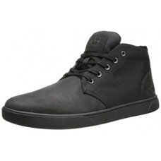 Timberland Men's Groveton CH Fashion Sneaker,Black Nubuck,9.5 M US