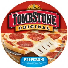 """TOMBSTONE PIZZA ORIGINAL PEPPPERONI 21.6 OZ - 12"""" PACK OF 2"""