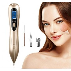 Mole Removal Pen Portable USB Charging Freckles Dark Spot Nevus Tattoo Dot Mole Remover Beauty Skin Machine with LCD Display Perfect for Removing S...
