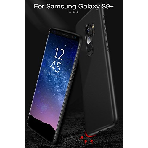 b633394ad9a3 Galaxy S9+ Plus Case, TORRAS Thin Fit Hard Shell Thinnest Ultra Slim  Anti-Slip Protective Cover ...