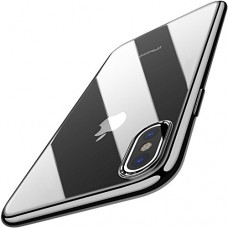 TOZO for iPhone X Case, Crystal Clear Soft TPU Gel Skin Ultra-Thin [Slim Fit] Transparent Flexible Premium Cover [Wireless Charger Compatible] for ...
