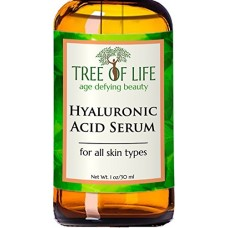ToLB Hyaluronic Acid Serum for Skin - 100% Pure Hyaluronic Acid with Vitamin C + Natural Ingredients for Enhanced Moisturization - Paraben Free, Ve...
