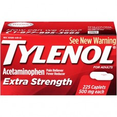 Tylenol Extra Strength Caplets, 500 Mg, 225 Count
