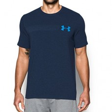 Under Armour Men's Chest Logo T-Shirt, Midnight Navy Medium/Water, Medium