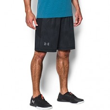 "Under Armour Men's Raid Printed 10"" Shorts,Black (023)/Steel, Medium"