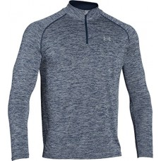 Under Armour Men's Tech 1/4 Zip, Academy/Steel, X-Large