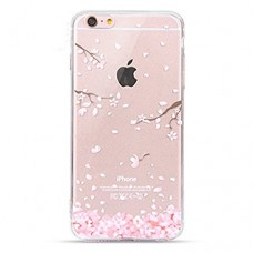 Urberry Iphone 4/4s Case, Cherry Leaf Falling Case for Iphone 4/4s with a Screen Protector