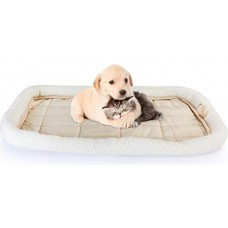 Fleece Pet Bed - Ultra Soft & Durable Warming Bed for Cats and Dogs – Machine Washable Bolster Bed - By Utopia Home
